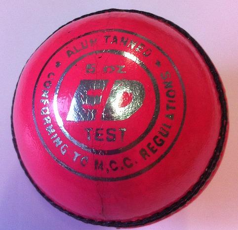ED Sports Super Test Ladies Pink Cricket Ball