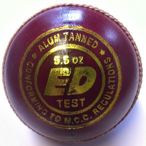 ED Sports Super Test Mens Red Cricket Ball