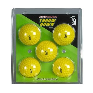 Kookaburra Throw Down Balls(set of 5)